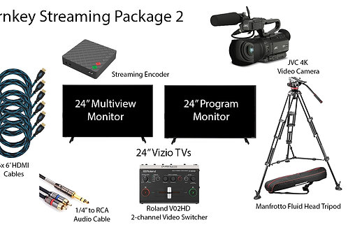 Turnkey Streaming Package 2