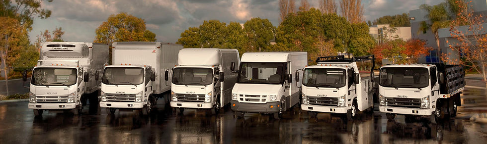 Isuzu Truck Line-Up