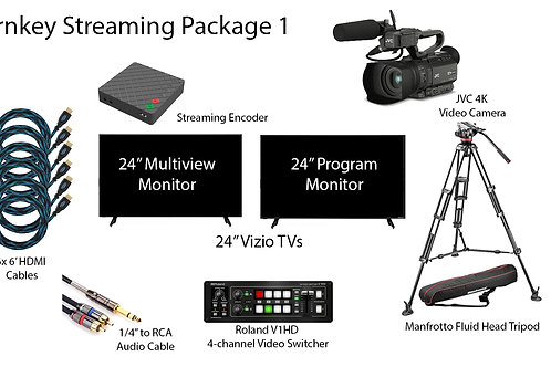 Turnkey Streaming Package 1