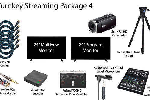 Turnkey Streaming Package 4
