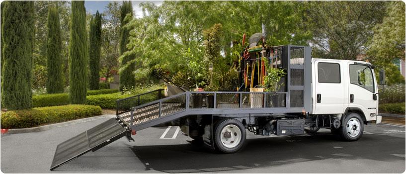 Isuzu Landscaping Truck