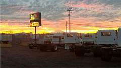 Sunrise at FMI North