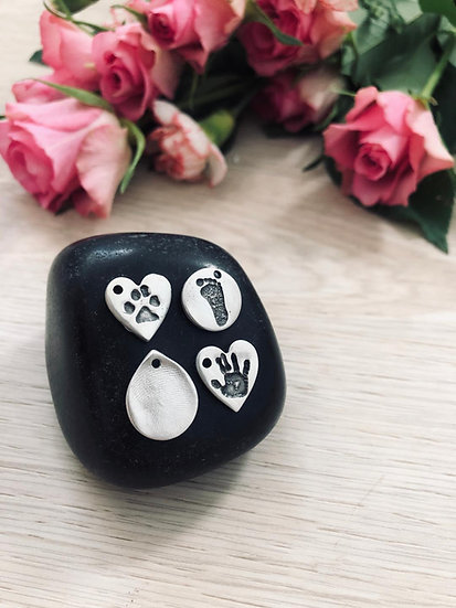 Hand/Foot/Paw Print Pendant (Small)