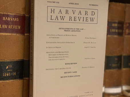 Harvard Law Review's Call for Prison Abolition Debate