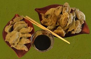dumplings on green dukkah number 2.jpg