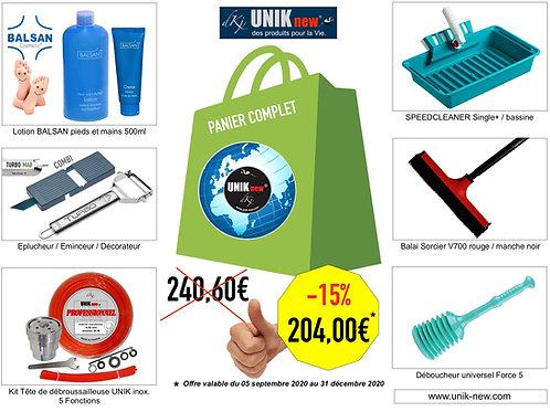 Pack UNIK new® tous nos articles à prix Promo.