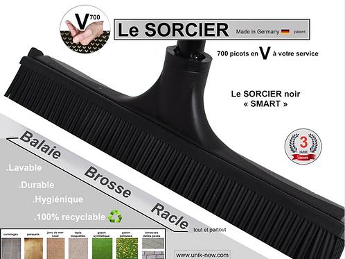 Balai SORCIER V700 noir SMART fourni sans manche