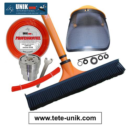 Kit Tête UNIK inox nettoyage Brosse. 4,00mm