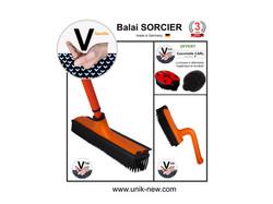 Promotion Kit Balai SORCIER V famille orange.