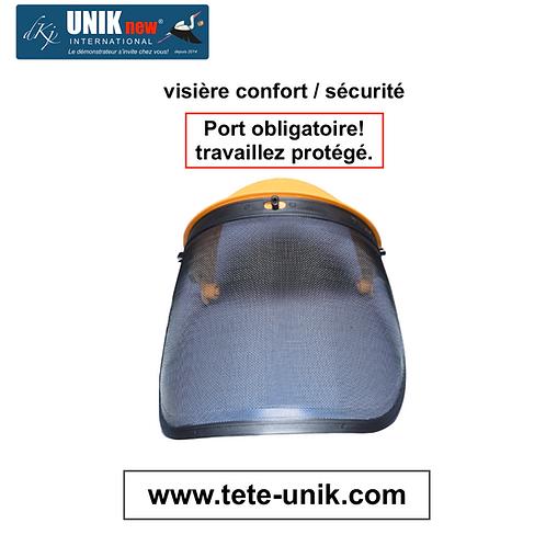Visière Pro: Confort/Sécurité , Port obligatoire