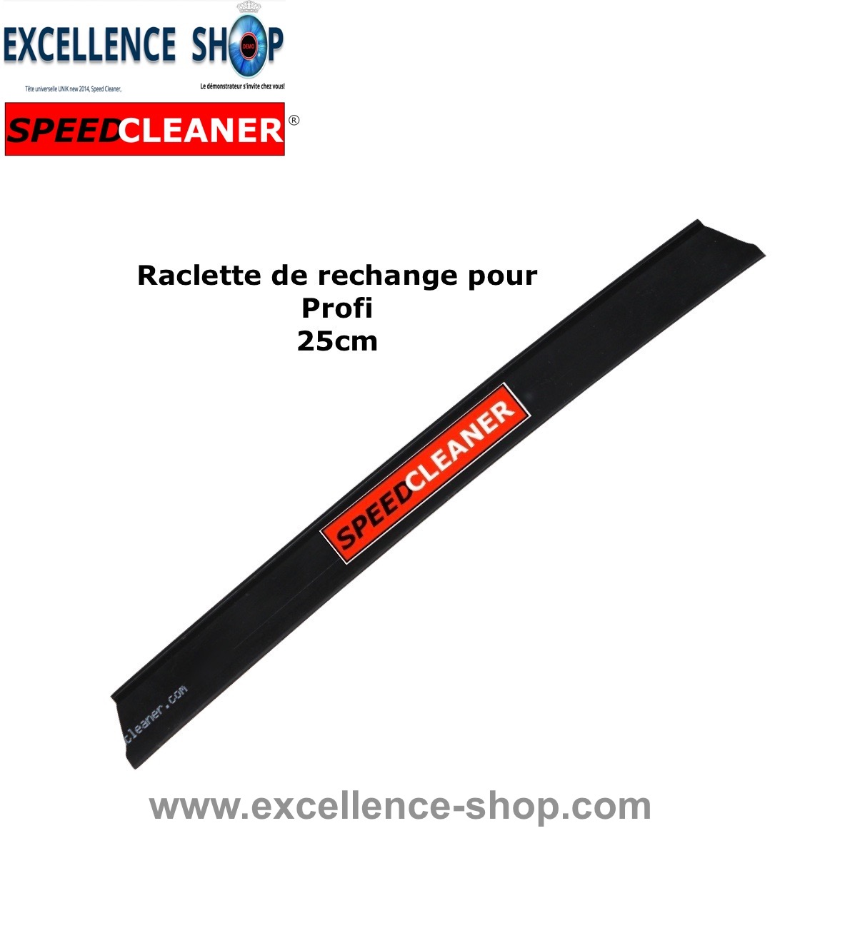 Raclette rechange Speed Profi 25cm