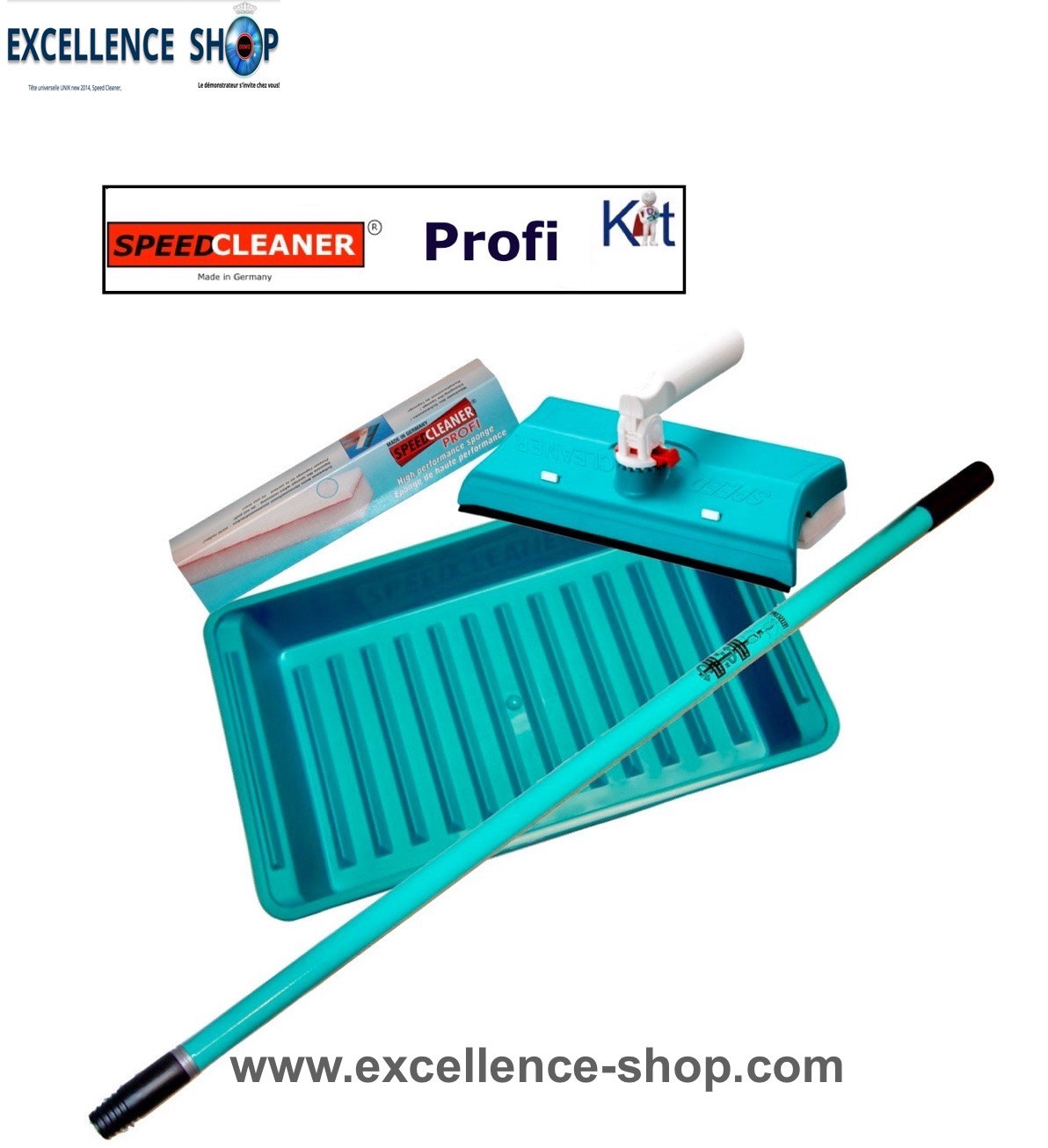 Kit Speed Cleaner Profi lave vitres