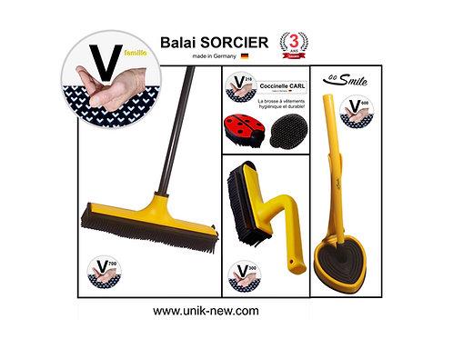 Balai SORCIER Kit complet jaune