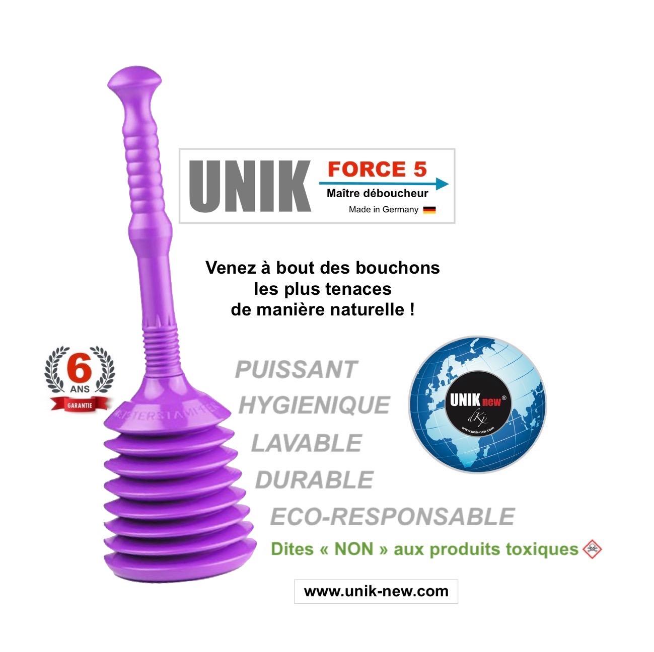 acheter UNIK FORCE 5 Déboucheur