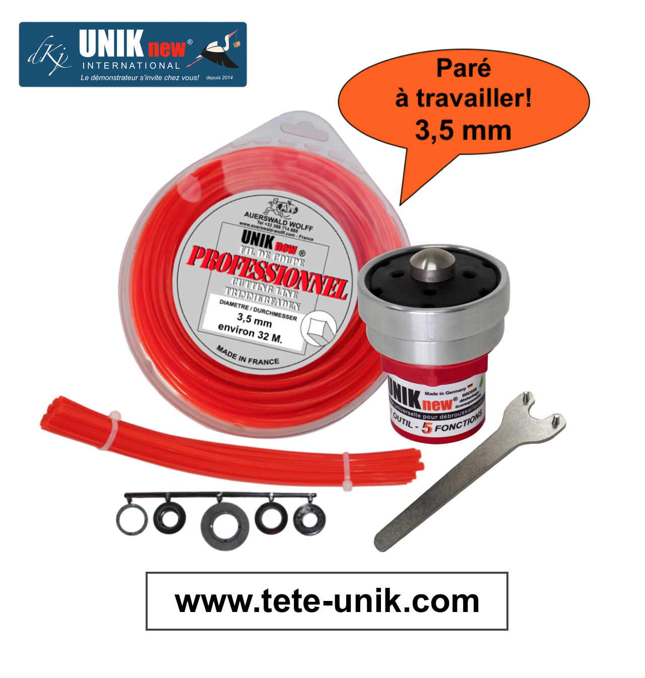 Kit UNIK technik 3,5mm 2020 site