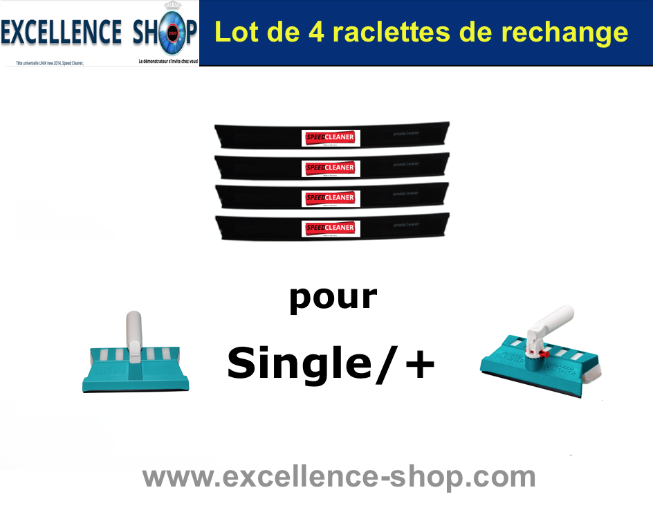 raclette Speed Cleaner Single vitres