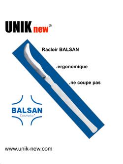 Racloir dermatologique BALSAN