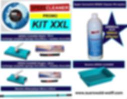 acheter raclette Speed Cleaner prix promo lave-vitre Kit Profi / Kit Single+ vitres propres et sans traces