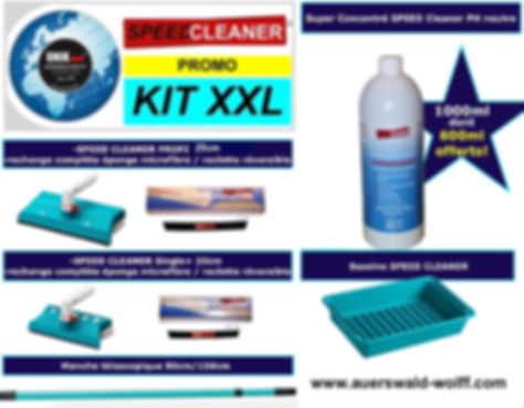 SPEEDCLEANER prix Kit Promo XXL Speed Cleaner Profi / Speed Cleaner single+