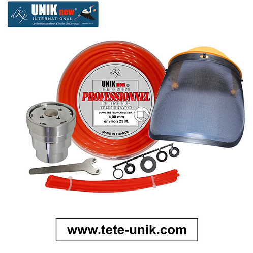 Kit Tête UNIK inox Pro. 4,00mm
