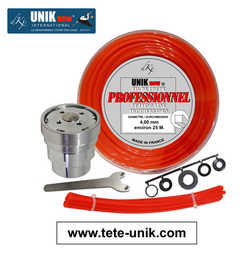 Kit Tête UNIK inox 4,00mm