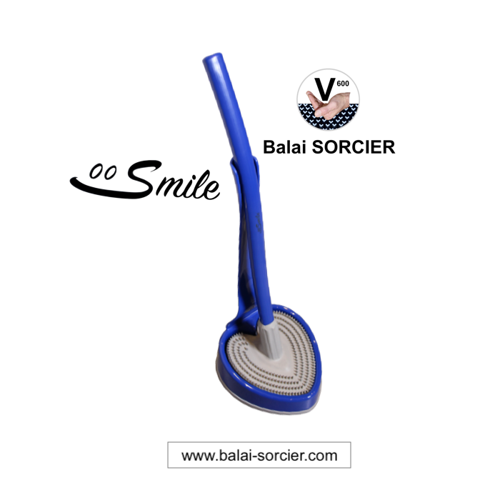 SMILE WC brosse toilette picot Balai SORCIER caoutchouc synthétique High-tech. Made in Germany