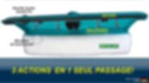 Speed Cleaner: lave-vitres Génial! Mouiller, sécher, récupérer en 1 seul passage!