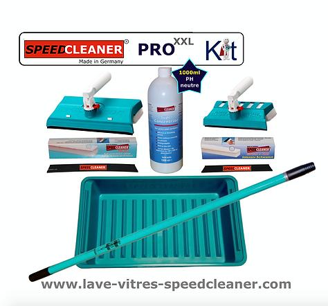 Kit PRO XXL SPEEDCLEANER lave-vitre