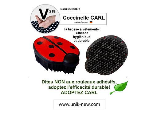 Coccinelle CARL V218 Balai SORCIER