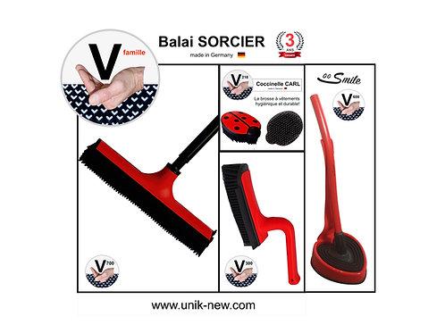 Balai SORCIER Kit complet rouge