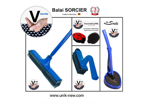 "Balai SORCIER Kit complet ""bleu classique""."