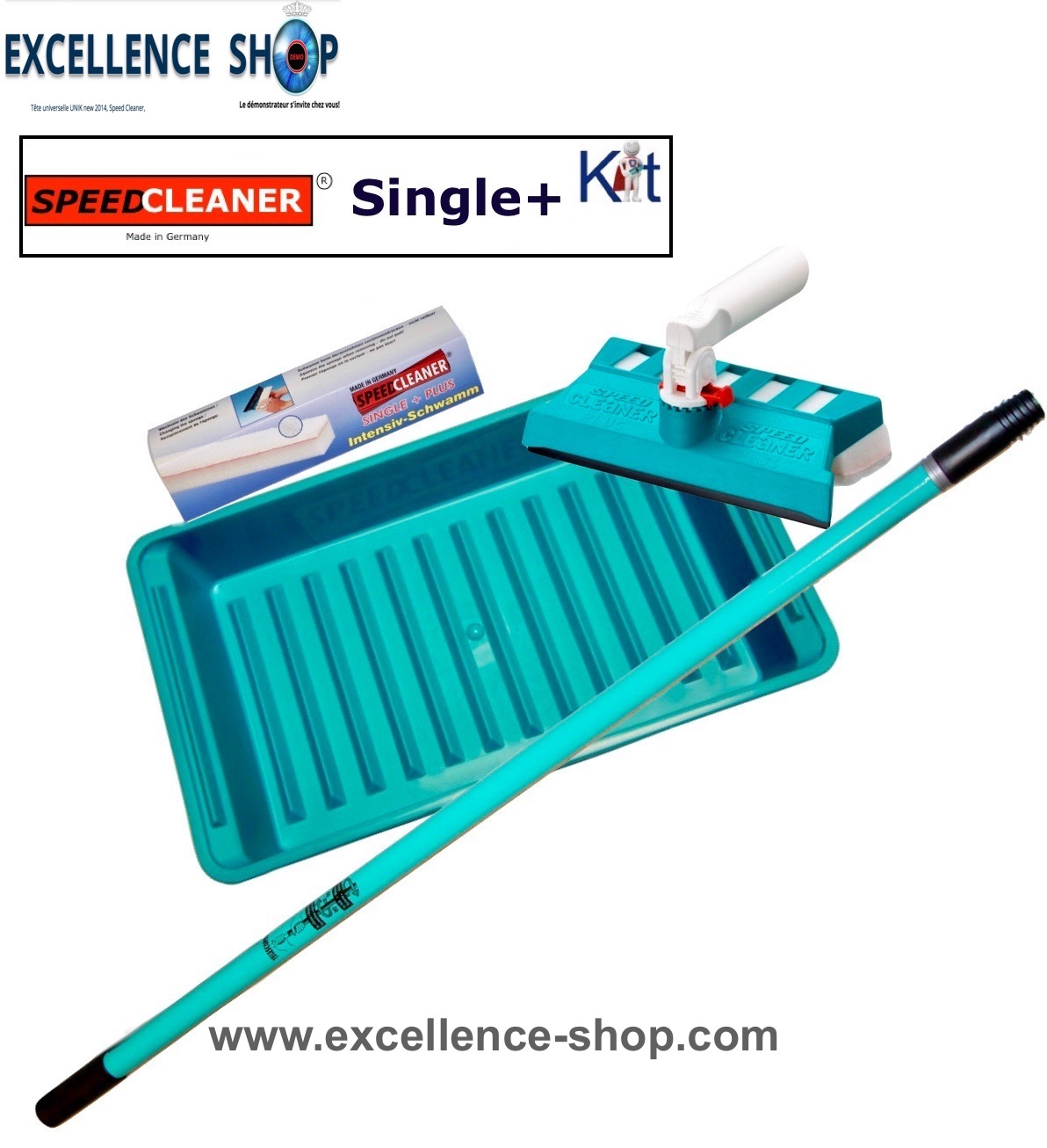Raclette Speed Cleaner Single+ vitre