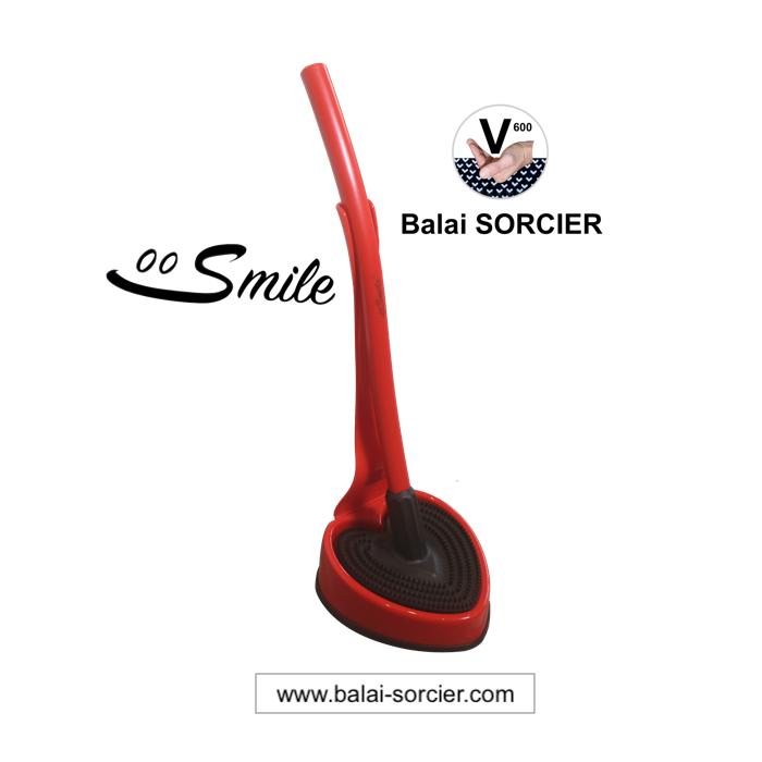 Brosse WC Foire de Paris Smile Balai SORCIER Concours Lépine