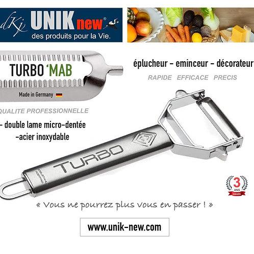 TURBO 'MAB  éplucheur / décorateur