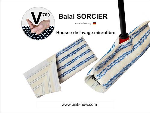 Housse de lavage microfibre haute densité Balai SORCIER