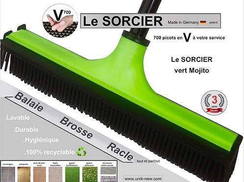 Balai SORCIER V700 vert Mojito fourni sans manche