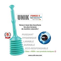 UNIK FORCE 5 Déboucheur turquoise