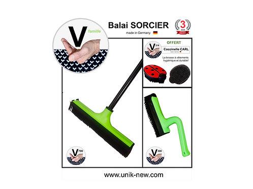 """Balai SORCIER Kit V famille """"vert Mojito"""""""