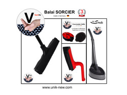 Kit Complet Balai SORCIER famille noir :