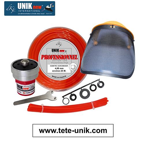 Kit Tête UNIK Technik Pro. 4,00mm