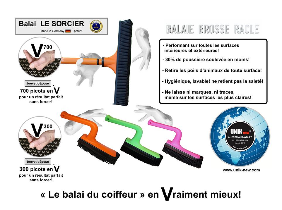 Balai SORCIER V700 UNIK NEW sasu. Balai picots promotion.