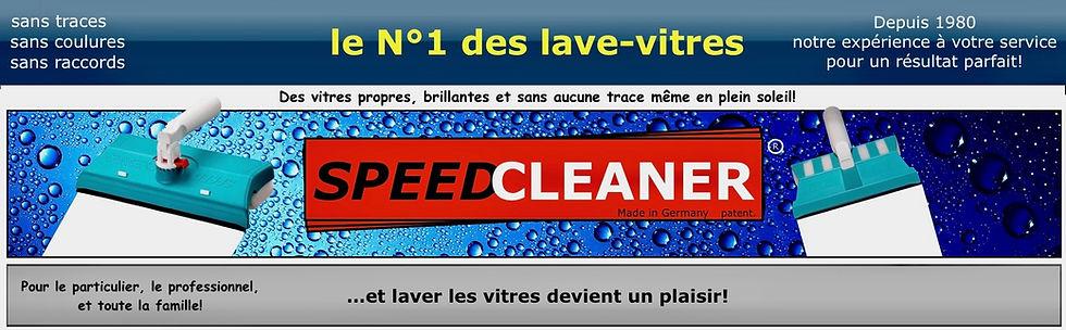 Speed Cleaner, pour des vitres propres et sans traces, même en plein soleil!