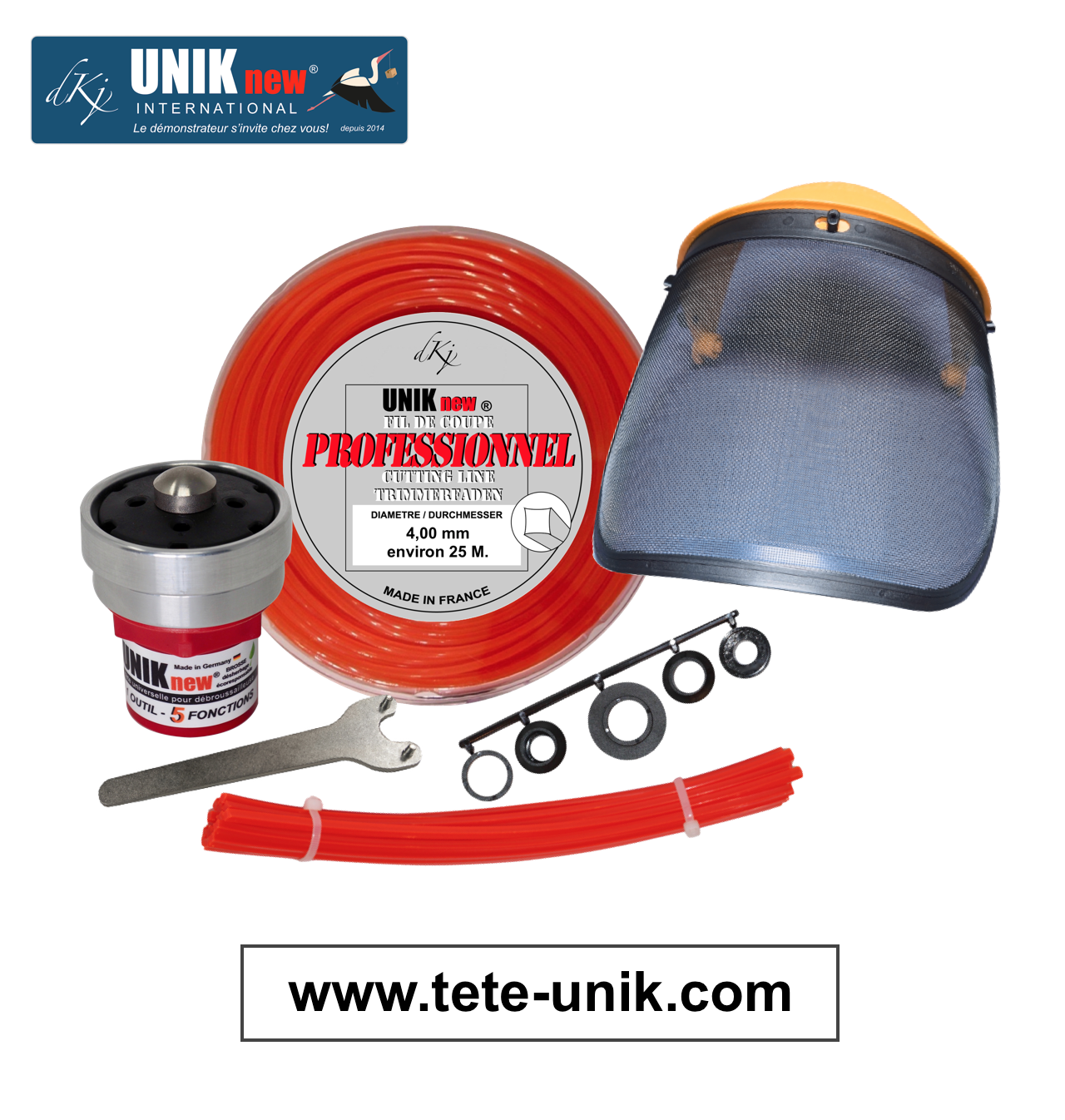 Kit UNIK technik Pro 2020 site