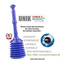 Déboucheur UNIK FORCE 5 bleu