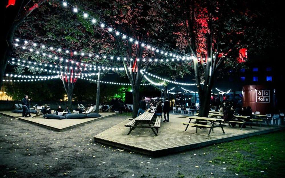 A la folie parc de la Villette, Paris