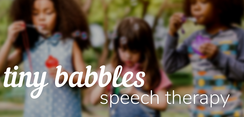 Tiny Babbles Speech Therapy