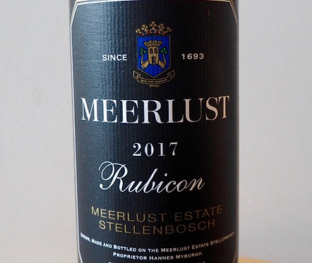 Meerlust 2015 and 2017 Rubicon/Pinot Noir mixed 12