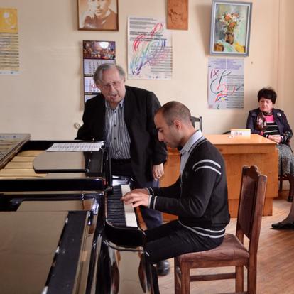 A master class  (Gyumri, Armenia, 2017)