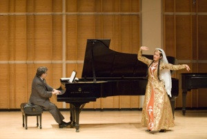 """""""Then and Now,"""" a marathon concert of music of Armenia (New York, USA, 2006)"""
