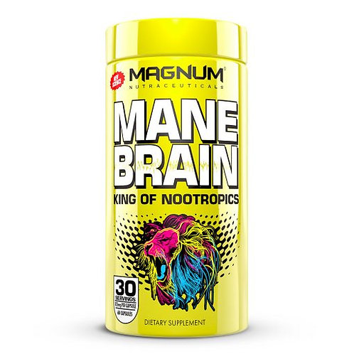 magnum nutraceuticals mane brane nootropic supplement